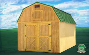 Prairie Built Treated Lofted Barn