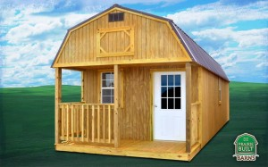 Prairie Built Treated Lofted Barn Cabin