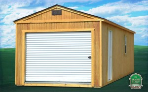 Prairie Built Treated Portable Garage