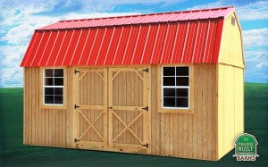 Prairie Built Treated Side Lofted Barn