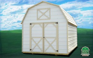 Prairie Built Metal Lofted Barn