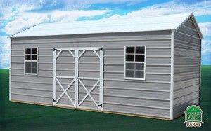 Prairie Built Metal Garden Shed