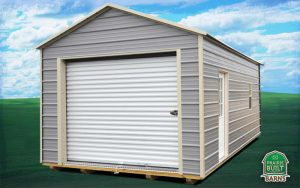 Prairie Built Metal Garage