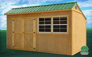 Prairie Built Treated Cottage Shed