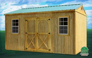 Prairie Built Treated Garden Shed